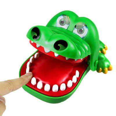 Big Size Creative Alligator / Shark / Dog Mouth Dentista Bite Finger Juego Funny Gags Toy para niños
