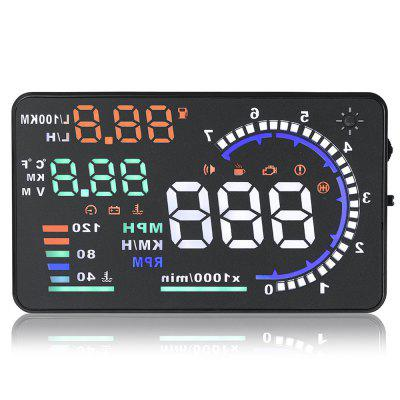 Gocomma A8 5.5inch OBD II Car HUD Head Up Display