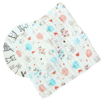 Baby 6-layer Cotton Gauze Saliva Towel