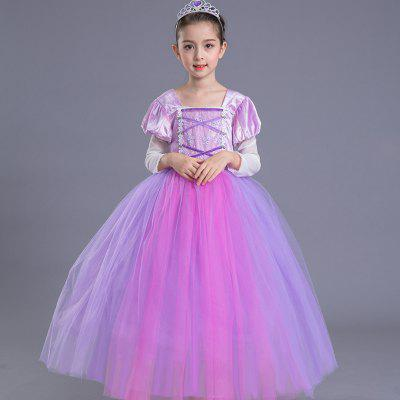 Duokipolla Girl Festival Princess Dress