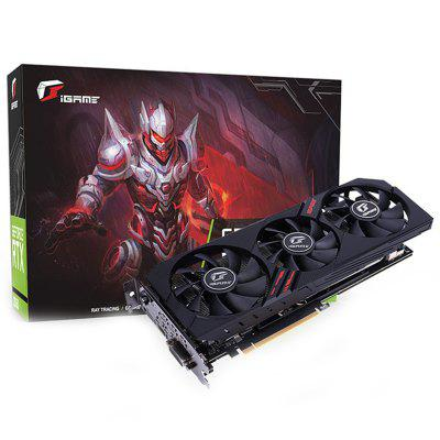 Placa de vídeo iGame GeForce GTX 1660 Ultra 6GB NVIDIA colorida