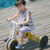 700Kids Child Deformable Balance Car Tricycle from Xiaomi youpin - YELLOW