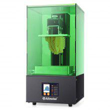 Alfawise W10 LCD SLA Resin 3D Printer - Green EU Plug
