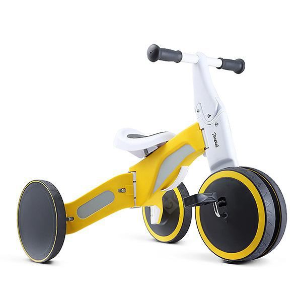 700Kids Child Deformable Balance Car Tricycle - Yellow