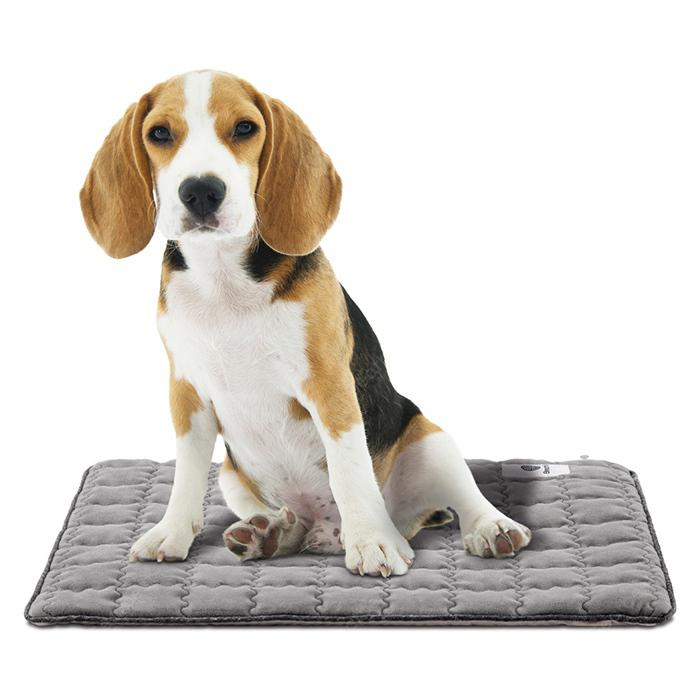BreathTec Decompose Odor Antibacterial Pet Mat - Gray S