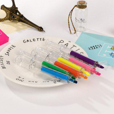 Syringe Style Highlighter 6pcs