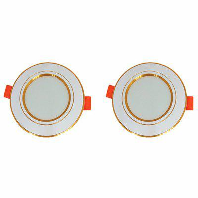 O diodo emissor de luz alto do brilho alto Downlight para o corredor Home 2PCS do corredor do hotel