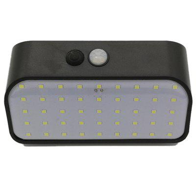 fangtexi 45LED 9W Solar Power Wall Lamp for Outdoor