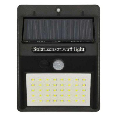 fangtexi 40LED Solar Power Wall Lamp for Outdoor