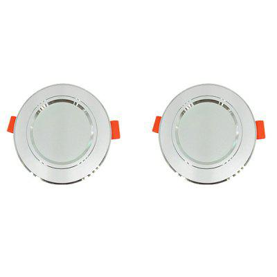 Interruttore a parete luminoso LED da incasso 5W 220V 2PCS