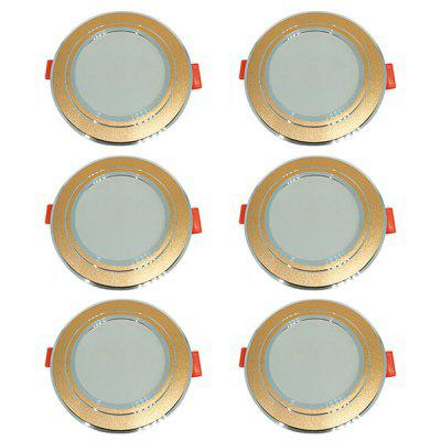 Brilho alto 5W 220V 6PCS do tempo longo do diodo emissor de luz Downlight