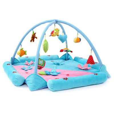 Flower-shaped Moisture-proof Baby Mat Toy
