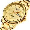 GUANQIN GJ16050 Men's Automatic Mechanical Steel Waterproof Watch - COPPER