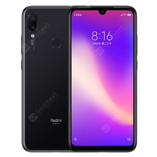 Xiaomi Redmi Note 7 4G Phablet Global Version 4GB RAM - Black