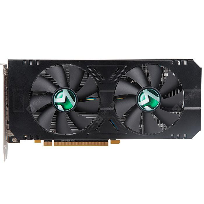 MAXSUN RX580 2048SP 8G M.2 AMD Gaming Video Graphics Card - Black