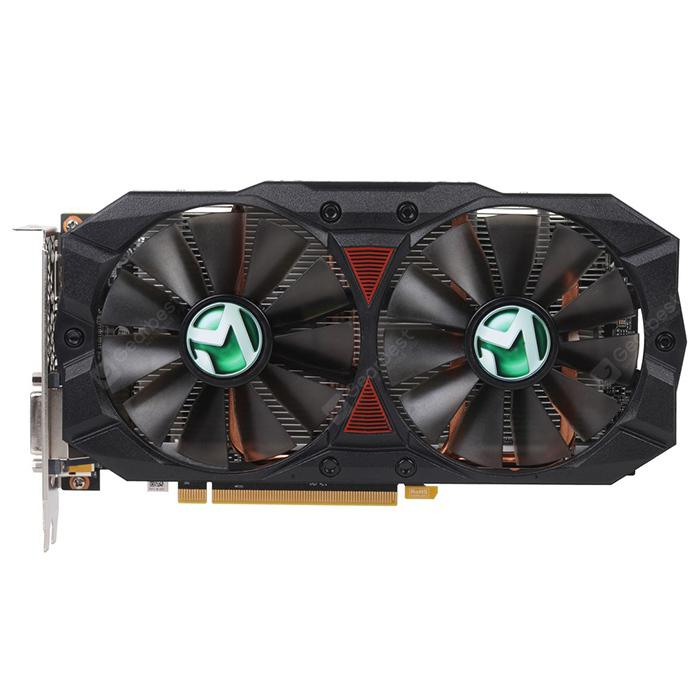 ChinaBestPrices - Scheda grafica video di gioco AMD MAXSUN RX580 2048SP Plus 4G