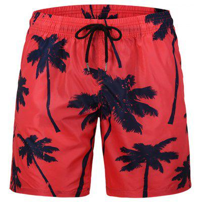 Mr.1991INC&Miss.GO Summer Swimming Trunks Creative Banana Print Beach Pants