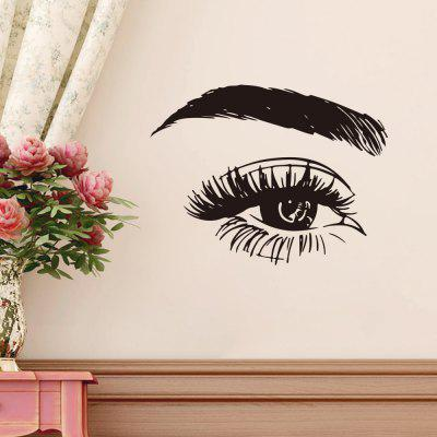 Übergroße Wimpern Wandaufkleber Home Decoration Wallpaper