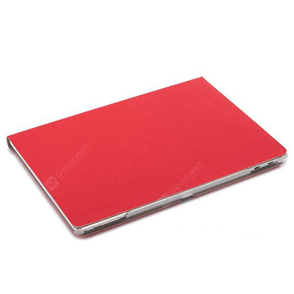 Leather Business Tablet Cover for Teclast Taipower T10 / T20 -  Red