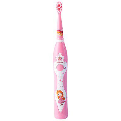 Children's Soft Hair Waterproof Electric USB Charging Toothbrush