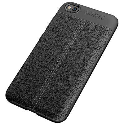 ASLING Lychee Leather Series Mobile Phone Shell for Xiaomi Redmi Go
