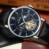GUANQIN GJ16036 Men's Automatic Mechanical Watch - BLACK