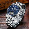 GUANQIN GJ16031 Men's Steel Business Casual Automatic Mechanical Watch - NAVY BLUE