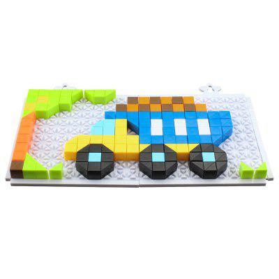 6606 - 3 Puzzle Building Blocks Puzzle 213PCS
