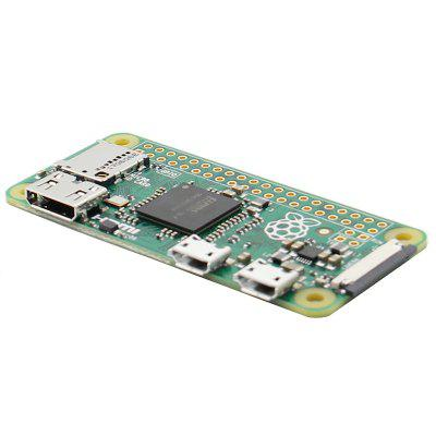 Latest Zero W Board with WIFI and Bluetooth 1GHz CPU 512MB RAM Linux OS 1080P HD Video Output Free Shipping for Raspberry Pi