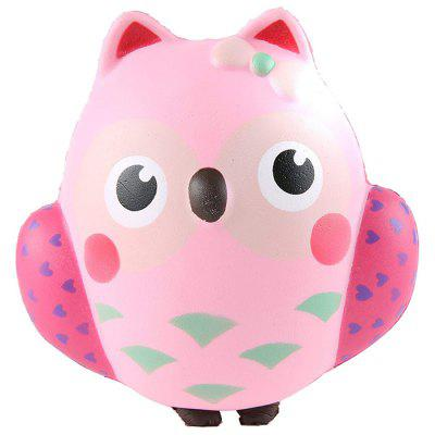 Squeeze Toys Jumbo Squishy Cute Owl Décompression