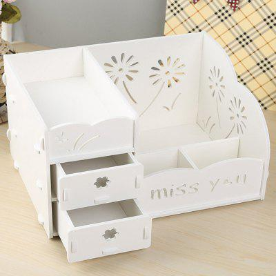 Multifunctional Cosmetic Storage Rack