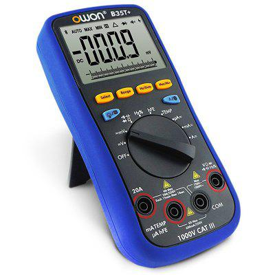 OWON B35T+ 3 - 5/6-bit Bluetooth Multimeter with True RMS Offline Recording