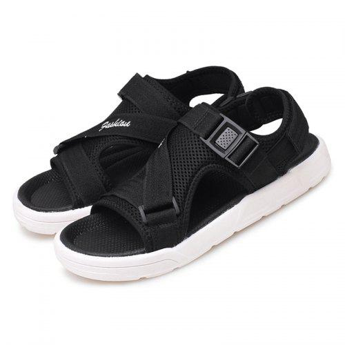 New Summer Beach Mens Casual Leather Sandals Shoes Anti-slip Slippers Shoes