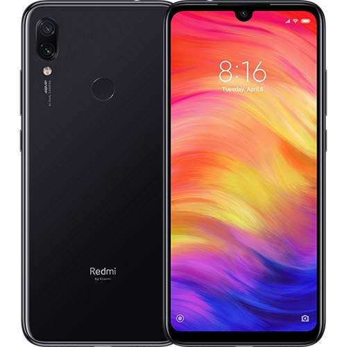 Xiaomi Redmi Note 7 4G Phablet Global Version 4GB RAM Black 4+128Go