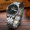 GUANQIN GJ16025 Men Cool Automatic Mechanical Watch - BLACK