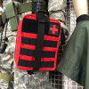 Outdoor Emergency First Aid Kit Medical Bag - RED