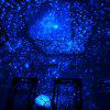 Star Sky Night Light Projector 3 Modes Rotation Decoration - NAVY BLUE