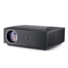 VIVIBRIGHT F30 LCD Projector Home Entertainment Commercial - Carbon Gray EU Plug