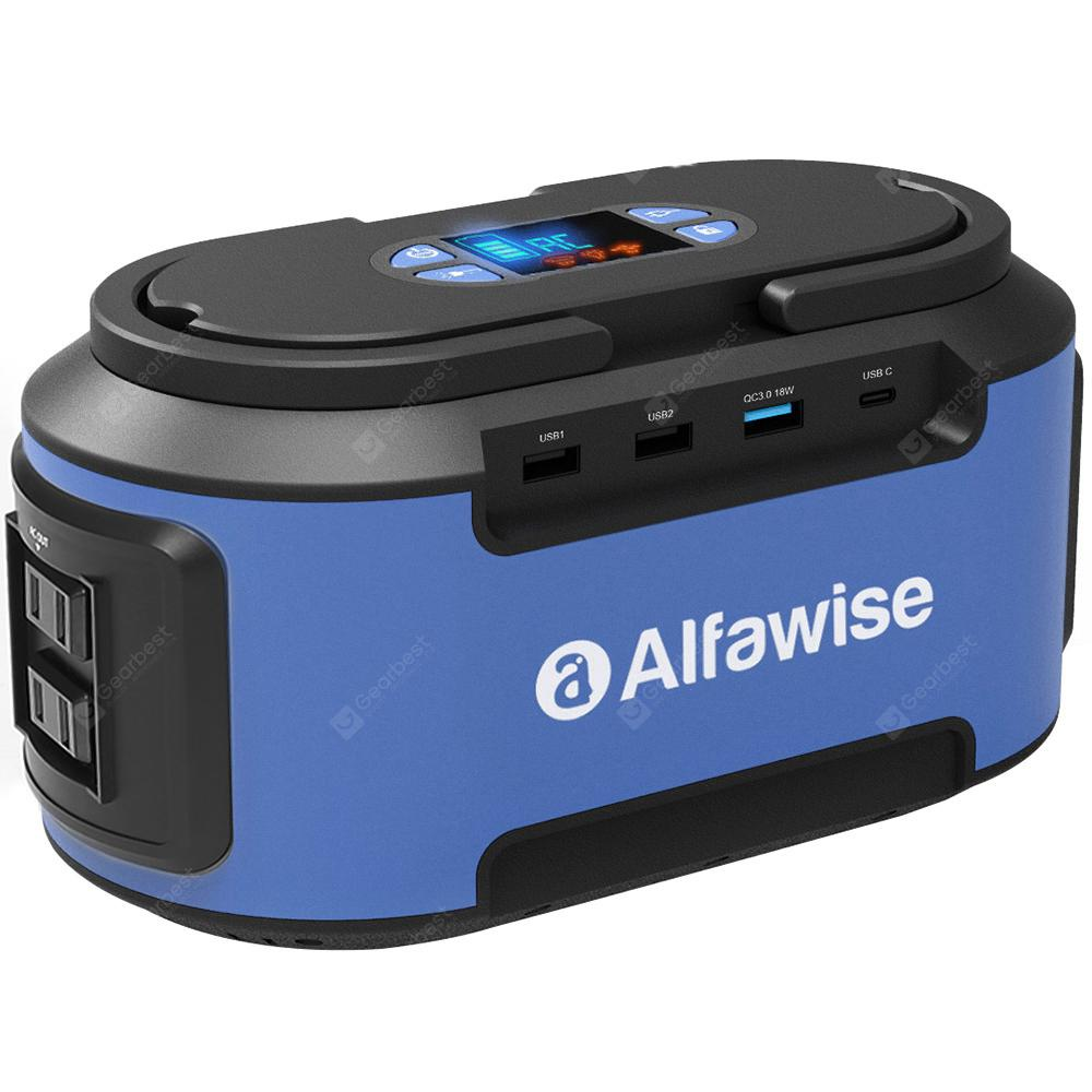Alfawise S420 220Wh Portable Electricity Power Station Battery Generator | Gearbest