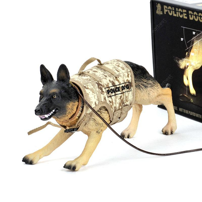 German Shepherd Dog Animal Part I 4D 3D Puzzle Realistic Model Kit Toy