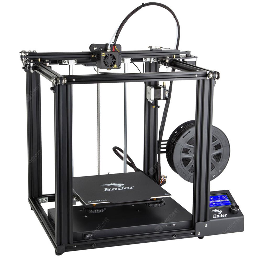 Creality3D Ender - 5 3D Printer 220 x 220 x 300mm - Black EU Plug