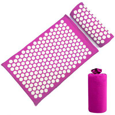 Lotus Spike Yoga Back Massager Acupuncture Pad