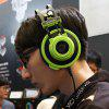 Dareu EH725 Headphones Gaming Headset with Wheat - GREEN
