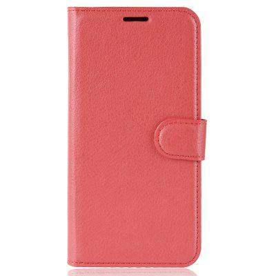Naxtop Lychee Wallet Flip Phone Case voor Leagoo Power 5