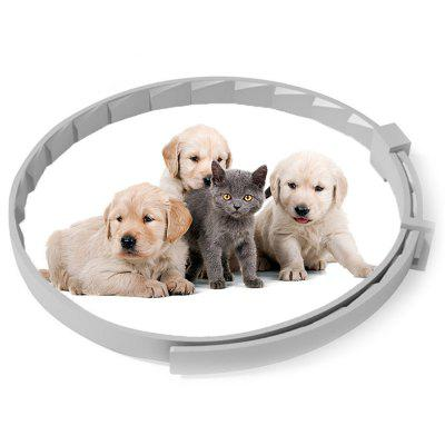 Pet Dog Flea Repellent Collar Cat Safe Anti-flea Ring