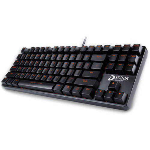 Dareu DK100 87 Key Backless Mechanical Keyboard