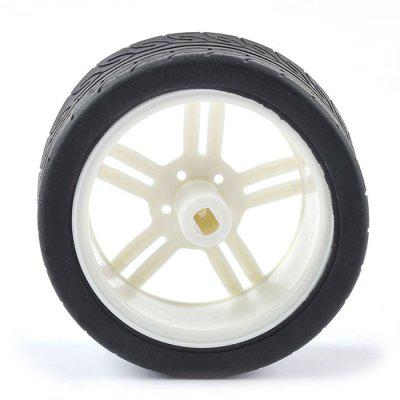 1PJ000266 - 1 TT Motor No. 1 Wheel for Intelligent Robot Car 2pcs