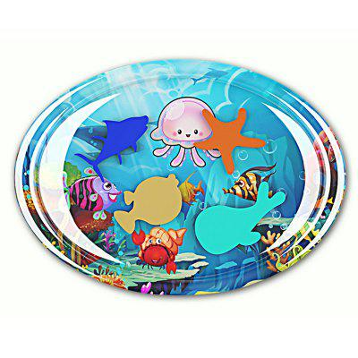 Ocean Modeling Children's Round Crawling Water Cushion