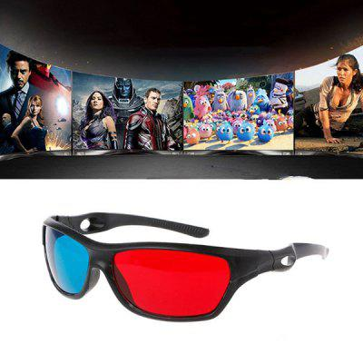 Esportes Frame Red Blue 3D Storm Glasses