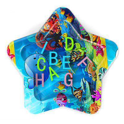 Five-pointed Star Ocean Alphabet Children's Inflatable Water Cushion